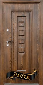 Блиндирана входна врата модел 802 7