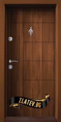 Блиндирана входна врата модел T-587 C 03