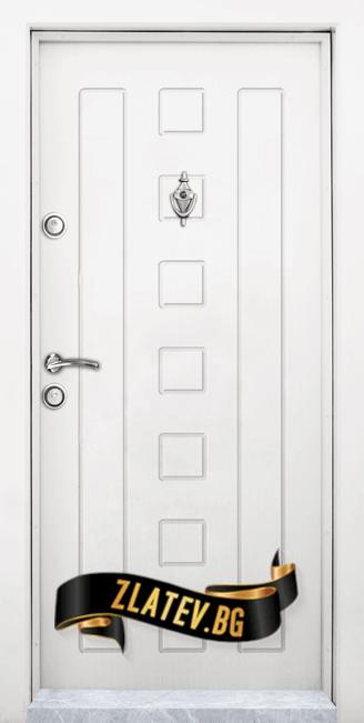 Блиндирана входна врата T 712 W 1