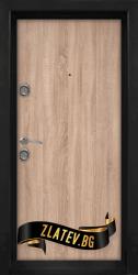 Блиндирана входна врата модел T-902 D