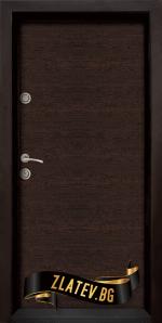 Блиндирана входна врата модел Ale Door 403, панел Wenge