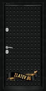 Блиндирана входна врата T 777 Black