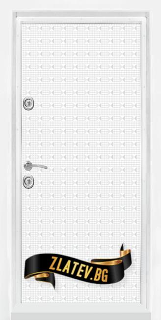 Блиндирана входна врата T 777 White