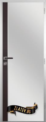 Алуминиева врата за баня Gradde цвят Орех Рибейра