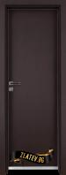 Алуминиева врата за баня Граде цвят Орех Рибейра