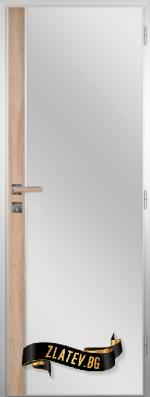 Алуминиева врата за баня - GRADDE цвят Дъб Вераде