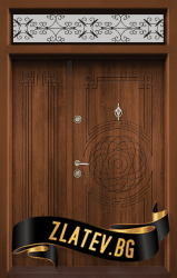 Еднокрила входна врата T-110 - Златен дъб