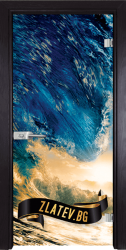 Стъклена интериорна врата Print G 13 19 X
