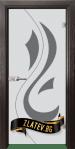 Стъклена интериорна врата Sand G 14 10 X