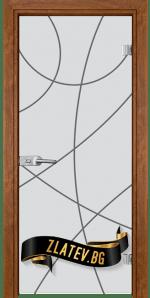 Стъклена интериорна врата Sand G 14 12 Z