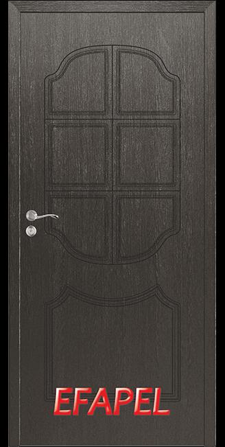 Интериорна врата Efapel 4509P Черна мура