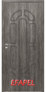 Интериорна врата Efapel 4512P Сив Ясен