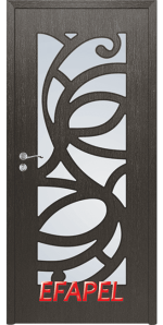 Интериорна врата Efapel 4527 Черна мура