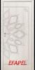 Интериорна врата Efapel 4539P Бяла мура
