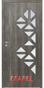 Интериорна врата Efapel 4558 Сив ясен