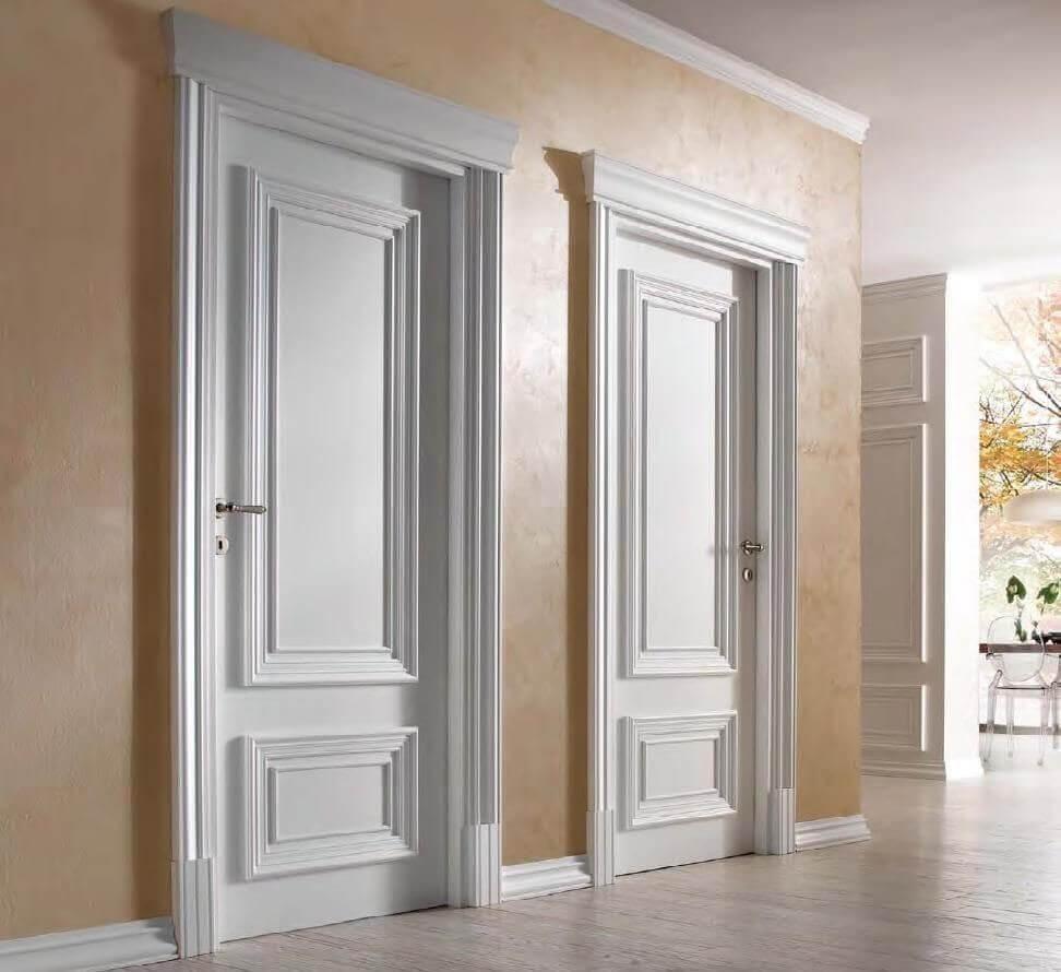 Elegantni Beli Interiorni Vrati