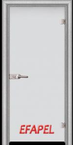 Стъклена интериорна врата Matt G 10 L