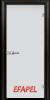 Стъклена интериорна врата Matt G 10 M