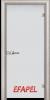 Стъклена интериорна врата Matt G 10 V