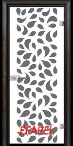 Стъклена интериорна врата Print G 13 1 R