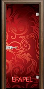 Стъклена интериорна врата Print G 13 11 H