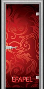 Стъклена интериорна врата Print G 13 11 L