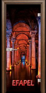 Стъклена интериорна врата Print G 13 13 Turkey H