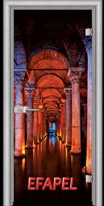 Стъклена интериорна врата Print G 13 13 Turkey L