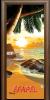 Стъклена интериорна врата Print G 13 14 Beach Sunset H