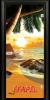 Стъклена интериорна врата Print G 13 14 Beach Sunset M