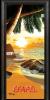 Стъклена интериорна врата Print G 13 14 Beach Sunset R