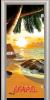 Стъклена интериорна врата Print G 13 14 Beach Sunset V