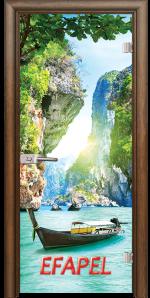 Стъклена интериорна врата Print G 13 15 Thailand H