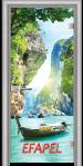 Стъклена интериорна врата Print G 13 15 Thailand L