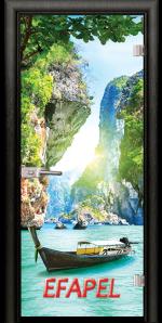 Стъклена интериорна врата Print G 13 15 Thailand M
