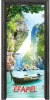 Стъклена интериорна врата Print G 13 15 Thailand O