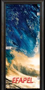Стъклена интериорна врата Print G 13 19 Wave R