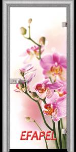 Стъклена интериорна врата Print G 13 2 L
