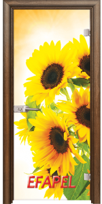 Стъклена интериорна врата Print G 13 4 H