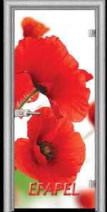 Стъклена интериорна врата Print G 13 8 L