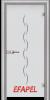 Стъклена интериорна врата Sand G 13 1 L