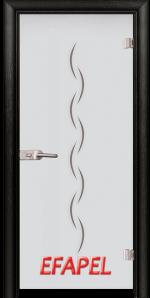 Стъклена интериорна врата Sand G 13 1 M