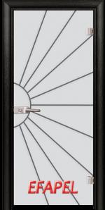 Стъклена интериорна врата Sand G 13 2 M