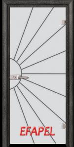 Стъклена интериорна врата Sand G 13 2 O