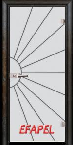 Стъклена интериорна врата Sand G 13 2 R