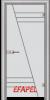 Стъклена интериорна врата Sand G 13 4 L