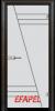 Стъклена интериорна врата Sand G 13 4 R