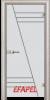 Стъклена интериорна врата Sand G 13 4 V