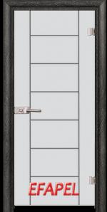 Стъклена интериорна врата Sand G 13 6 O