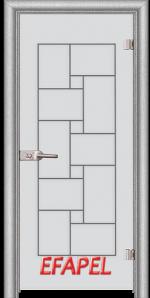 Стъклена интериорна врата Sand G 13 7 L